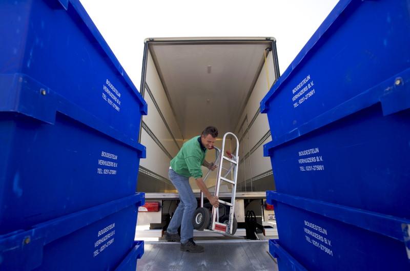 Bedrijven verhuizen